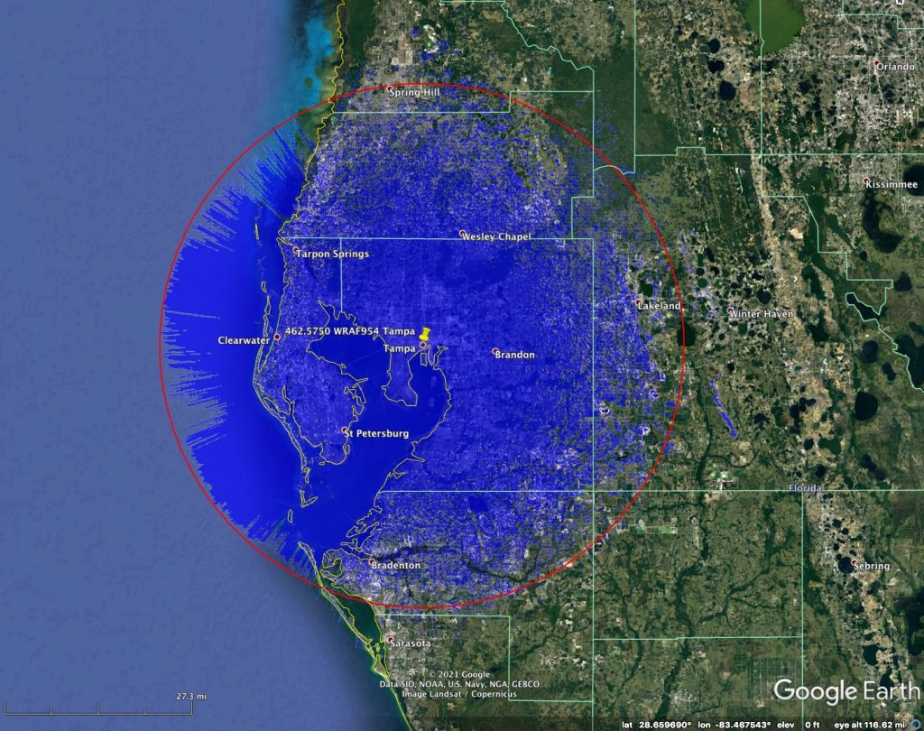 Tampa 575 GMRS Repeater
